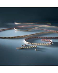 Banda Flexibila Profesionala FlexOne Pro 1 LED Seoul alb cald 2700K 25lm 24V pret pt. 1cm (2500lm/m, 24W/m LED)