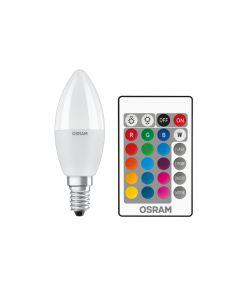 BEC LED OSRAM SUPERSTAR CLASSIC LED Lamp B 40 RGBW REM 4.9W 2700K E14 2700K 470lm