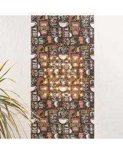 Tapet Luminos Marburger LED SUN 2.8x0.53m 49 LED Alb Cald 2700K 350lm decor Cafea control telefon