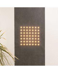 Tapet Luminos Marburger LED SUN 2.8x0.53m 49 LED Alb Cald 2700K 350lm decor Gri control telefon