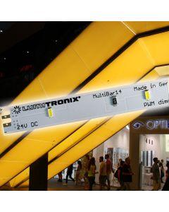 100x100 cm Kit de iluminare din spate: Multibar 14 Nichia LED Alb Cald 4000lm 24V 560 LED 40W