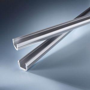 Profil de aluminiu Aluflex pentru Benzi LED Flexible Lumiflex 102cm rotund si adanc