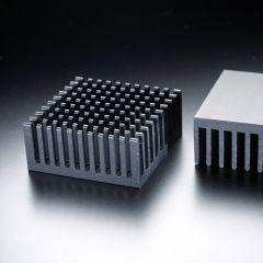 Radiator patrat 38x38mm pentru LED <300lm