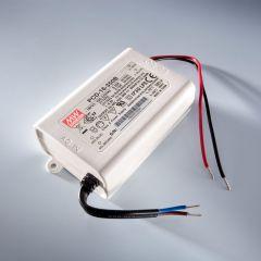 Transformator Driver Profesional de curent constant Mean Well PCD-16-350B IP30 350mA 24 > 48V DIM