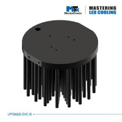 Radiator circular 11cm  MechaTronix LPF11180-ZHE-B pt LED <9600lm