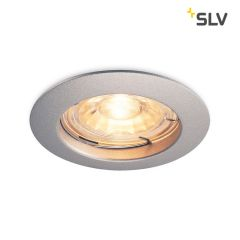 Spot incastrat SLV Pika GU10 6cm argintiu
