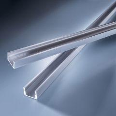 Profil de aluminiu Aluflex pentru Benzi LED Flexible Lumiflex adanc Tip 2 1020mm