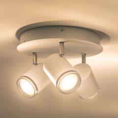 Plafoinera Lampa de Tavan Inteligenta LED Philips Hue Adore Alb, 3x Lumini round 750lm