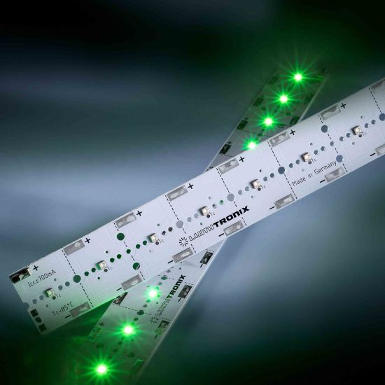 Banda Profesionala PowerBar V3 verde 528nm 2760lm 700mA 12x Osram Oslon SSL LED modul 29cm