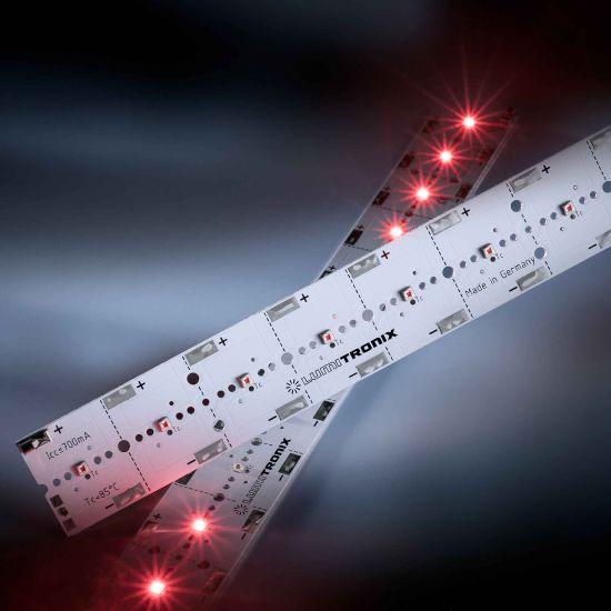 Banda Profesionala PowerBar V3 rosu 660nm 700mA 12x Osram Oslon SSL LED modul 29cm