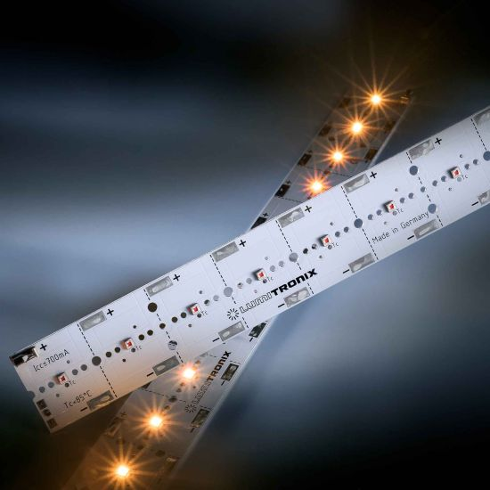 Banda Profesionala PowerBar V3 gablen 590nm 1640lm 700mA 12x Osram Oslon SSL LED modul 29cm
