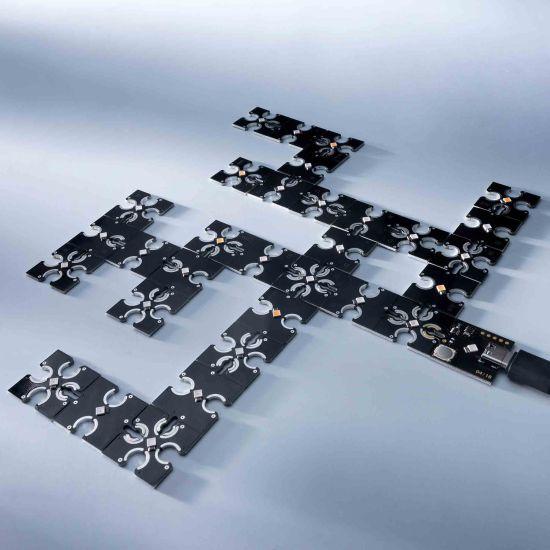 Modul ConextPlay de tip masculin lumina albastra 1 LED 2.5x2.5cm 5V 2lm 0.1W