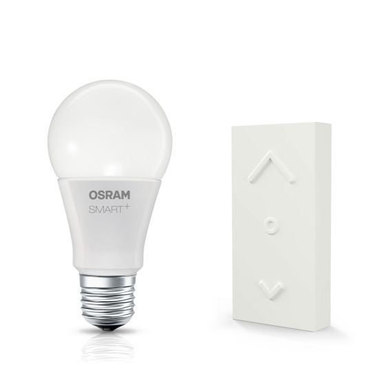 Bec LED Osram Smart+ Color Switch Mini Kit, E27 RGBW + Dimming Switch 2200-6500K 600lm