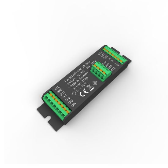 Unitate de control PowerController V2  o culoare via DALI 102 4-canale la 10-30VDC max. 300W