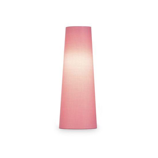 Abajur SLV Fenda conic, D/H 15/40 cm roz