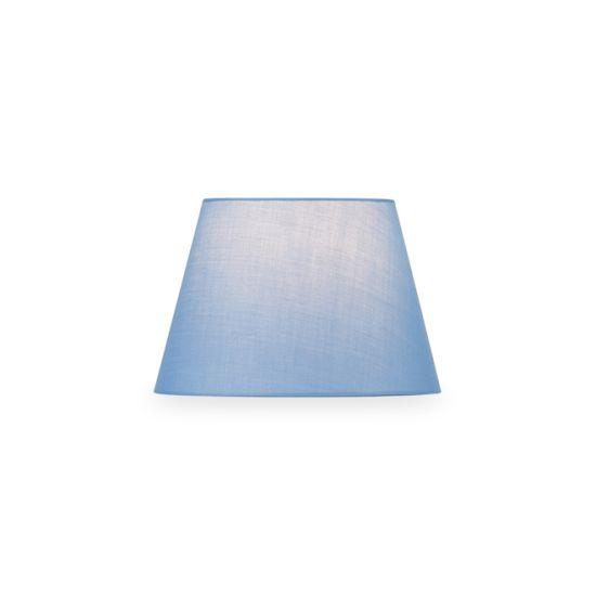 Abajur SLV Fenda conic, D/H 30/20 cm albastru