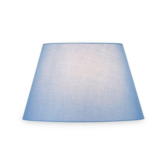 Abajur SLV Fenda conic, D/H 45.5/28 cm albastru