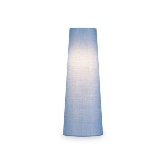Abajur SLV Fenda conic, D/H 15/40 cm albastru