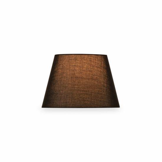 Abajur SLV Fenda conic, D/H 30/20 cm negru