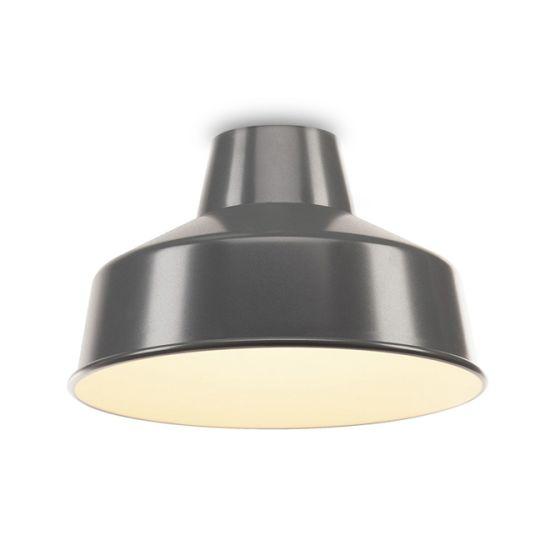 Lampa abajur SLV Fenda din aluminiu D/H 40/25 cm gri-alb