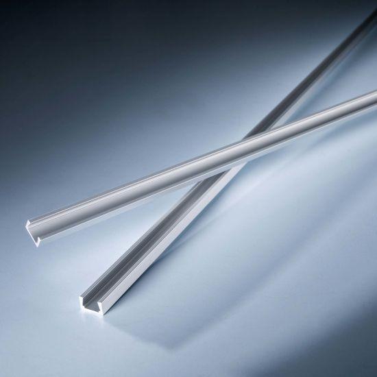 Profil de aluminiu AluSlim pentru Benzi LED Flexible Slimflex 102cm putin adanc fara aripioare