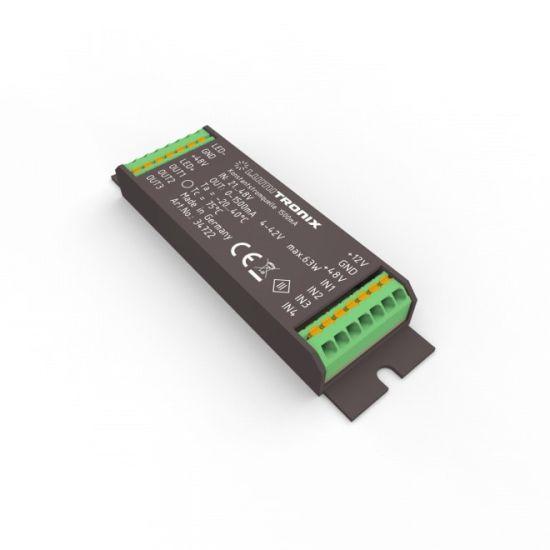 Driver cu LED constant LUMITRONIX 21-48V la 1> 1500mA 4-42V DIM pentru PowerController V2