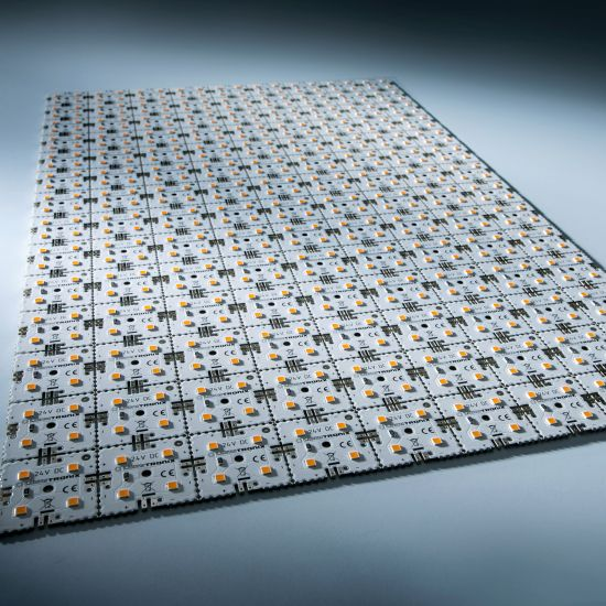 Matrice Profesionala LED Matrix mini 24V 126 patrate (9x14) 504 LED-uri Nichia Japonia (9040lm) 3000K alb cald