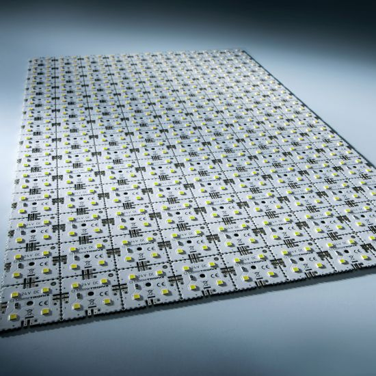 Matrice Profesionala LED Matrix mini 24V 126 patrate (9x14) 504 LED-uri Nichia Japonia (9840lm) 6500K alb