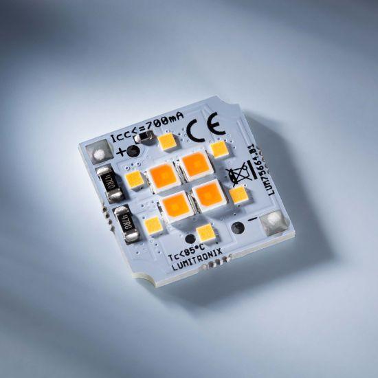 Modul Profesional LED SmartArray Dim2Warm 5.5W=50W 631lm 6+4 LED-uri Nichia Japonia Alb Auto Regrabil 3000K-2000K
