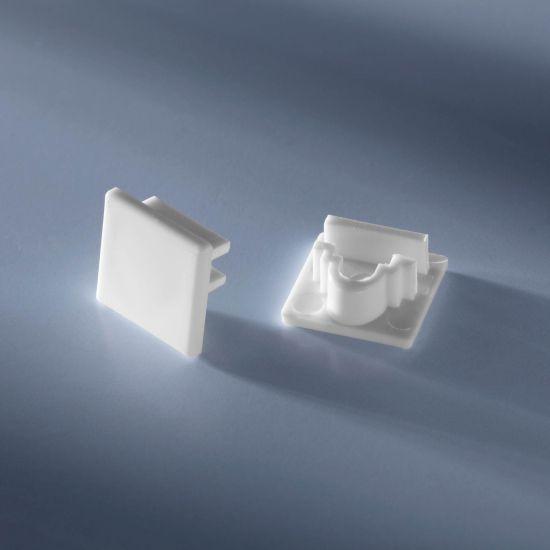 Capac pentru profilul de aluminiu Alubar de 50cm inchis
