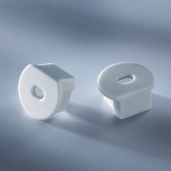 Capac pentru profilul de aluminiu Aluflex de 102cm rotund si adanc cu spatiu pentru cabluri