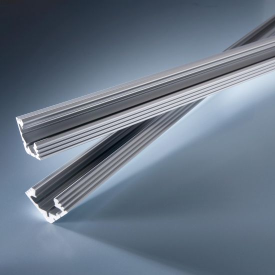 Profil de aluminiu Aluflex pentru Benzi LED Flexible Lumiflex 102cm triunghiular