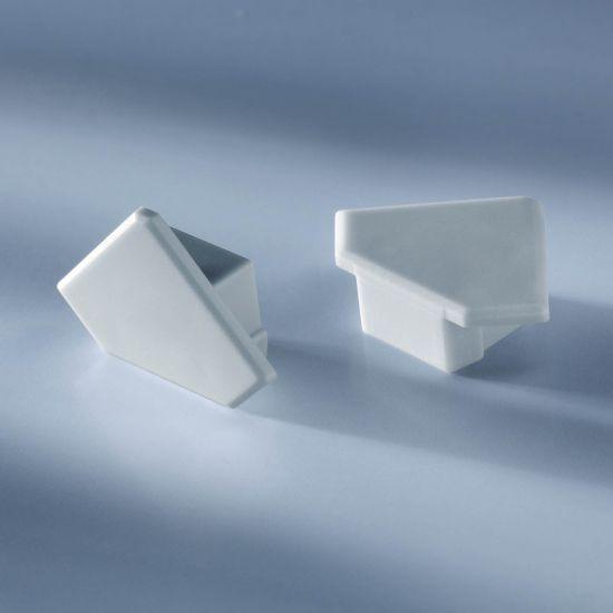 Capac pentru profilul de aluminiu Aluflex de 102cm triunghiular inchis