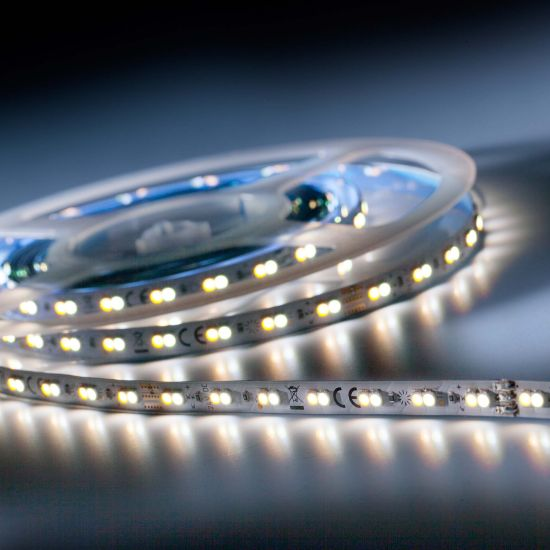 Banda Flexibila Semi-Profesionala LumiFlex700 Economy 700 LED-uri Honglitronic TW alb 2700-6500K 24V rola 5m (400+420lm/m, 140 LED/m si 4.8W/m)