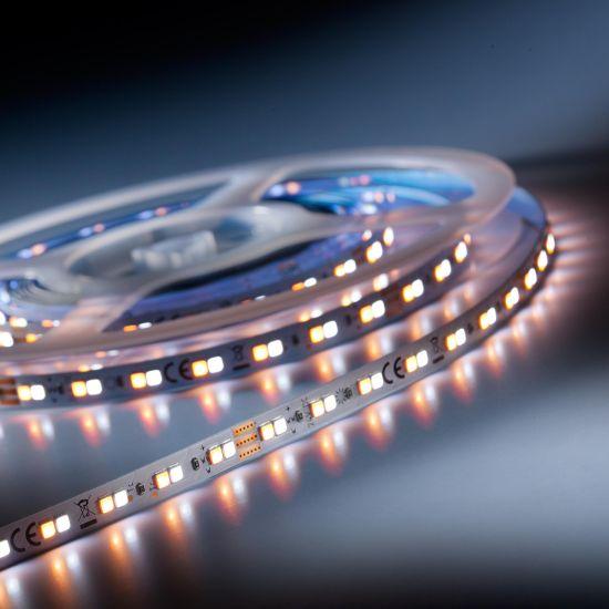 Banda Flexibila Profesionala LumiFlex700 Performer 700 LED-uri Nichia Japonia TW alb 2000-6500K 24V rola 5m (874+1396lm/m, 140 LED/m si 9.6W/m)