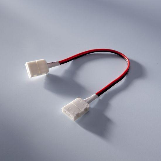 Cablu cu mufe de conexiune 14 cm pentru benzile profesionale LumiFlex Performer cu LED-uri Nichia