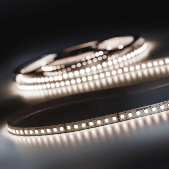 Banda Flexibila Profesionala LumiFlex700 Pro 700 LED-uri Nichia Japonia alb neutru CRI90 4000K 24V rola 5m (2430lm/m, 140 LED/m si 19.2W/m)