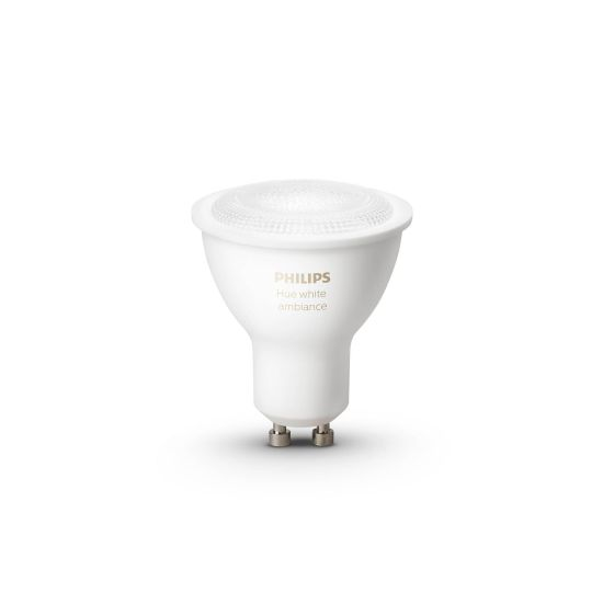Bec LED Philips Hue LED GU10 White Ambience 55W 250lm