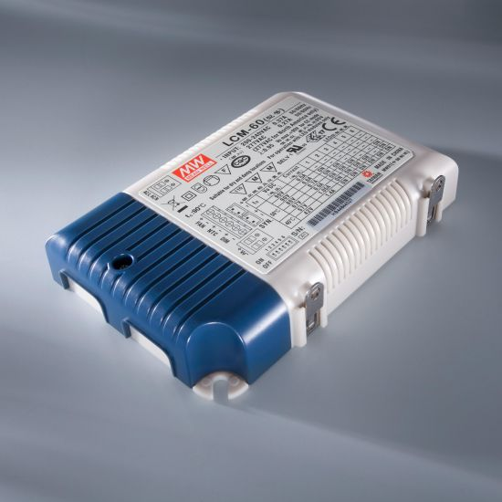 Transformator Driver Profesional de curent constant Mean Well LCM-60 230V la 2-90V 500 > 1400mA DIM