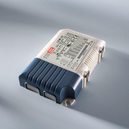 Transformator Driver Profesional de curent constant Mean Well LCM-25 IP20 350 > 1050 mA 230V la 6 > 54VDC DIM