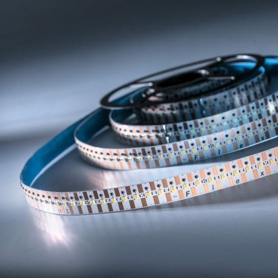 Banda Flexibila Profesionala FlexOne500 Performer 500 LED-uri Samsung alb rece 6500K 12V rola 5m (3800lm/m, 100 LED/m si 42W/m)