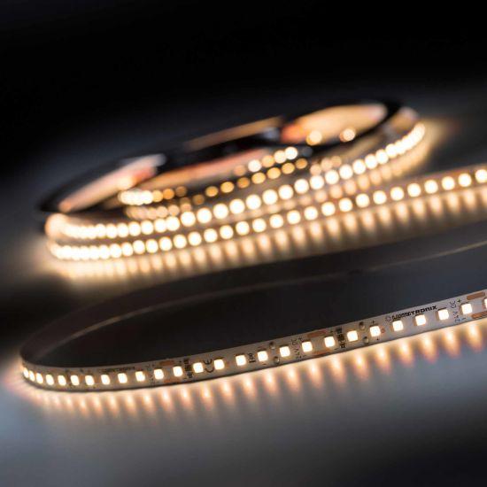 Banda Flexibila Profesionala LumiFlex700 Pro SunLike 700 LED-uri Toshiba alb cald solar CRI97 2700K 24V rola 5m (1634lm/m, 140 LED/m si 19.2W/m)