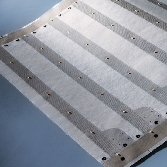 Banda Flexibila Profesionala Paper-Flex Osram 147 LED-uri 1.05m lungime 35 cm latime 0.36mp alb cald 2700K 24V pret rola (1100lm/m si 140 LEDs/m)