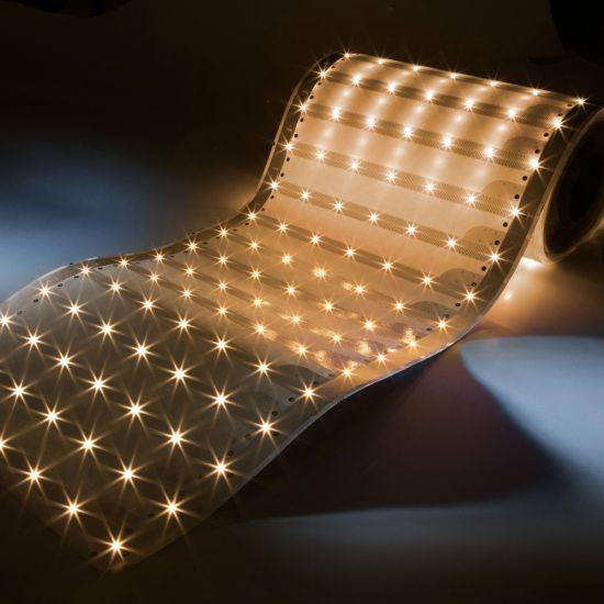 Banda Flexibila Profesionala Paper-Flex Osram 3479 LED-uri 24.85m lungime latime 35 cm alb cald 2700K 24V pret rola (1100lm/m si 140 LEDs/m)