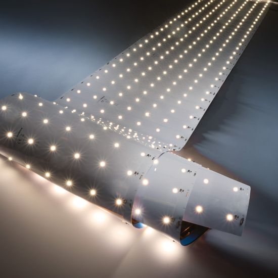 Banda Flexibila Profesionala Z-Flex980 Pro 980 LED-uri Seoul alb cald 3000K 32400lm 175 LED/m 5.6m rola latime 28cm (5875lm/m si 39W/m)