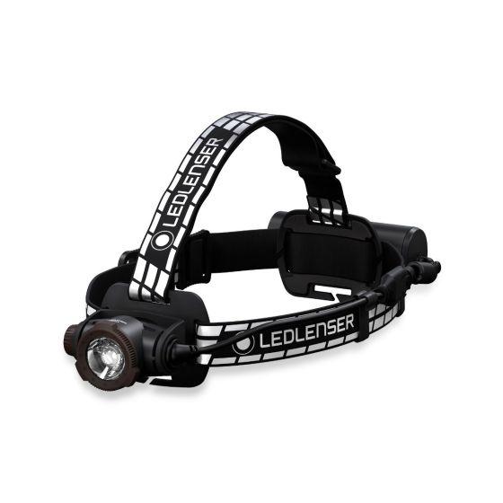 Lanterna Premium de cap LEDLENSER H7R Signature Reincarcabila 1200lm raza luminoasa 260m CRI80 Bluetooth