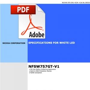 Fisa Tehnica LED Nichia