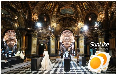 Iluminarea Muzeului Grevin cu LED-uri SunLike