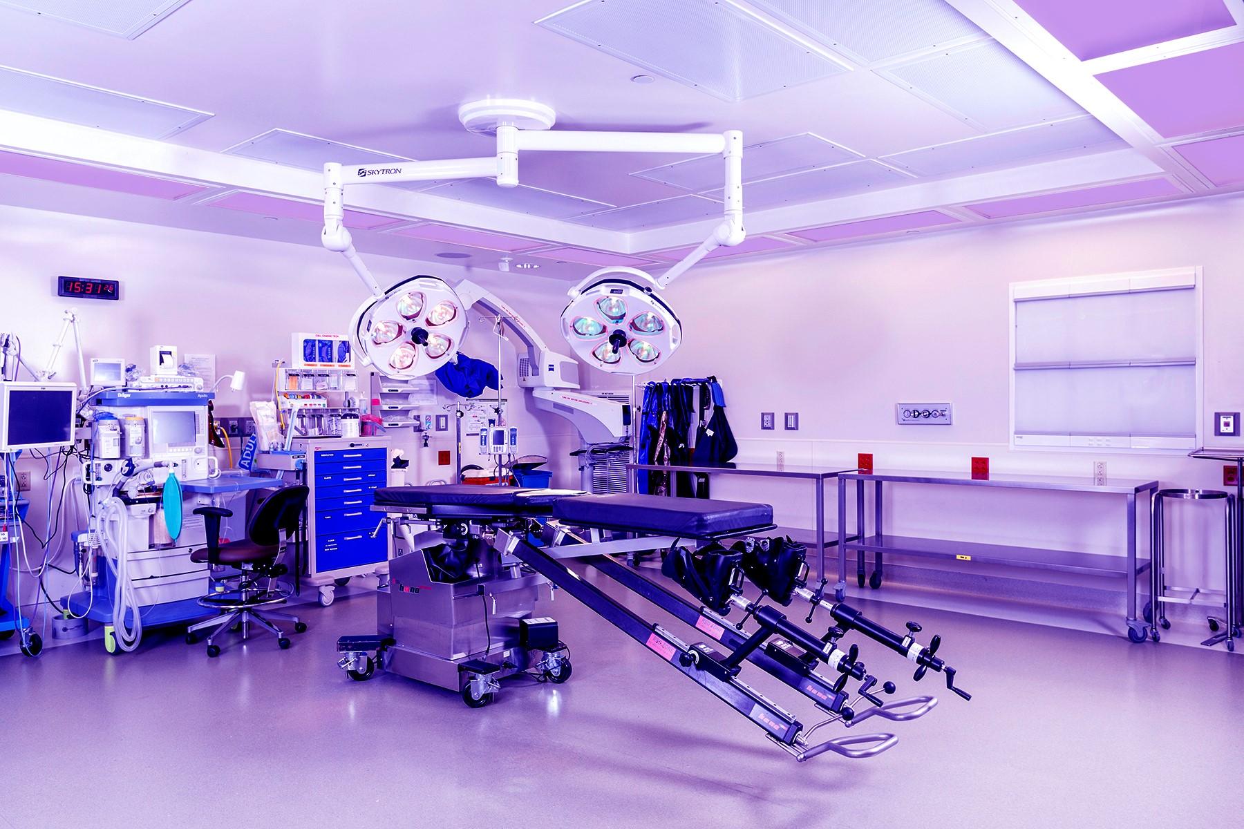 Sistem de desinfectare continua cu lumina violet