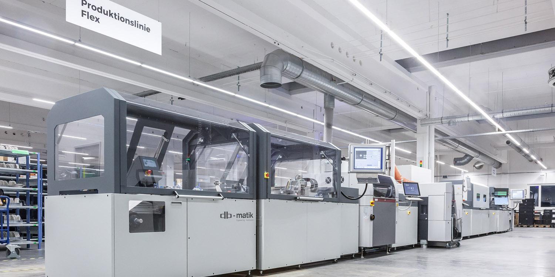 Noua linie de producție Flex LED din Germania